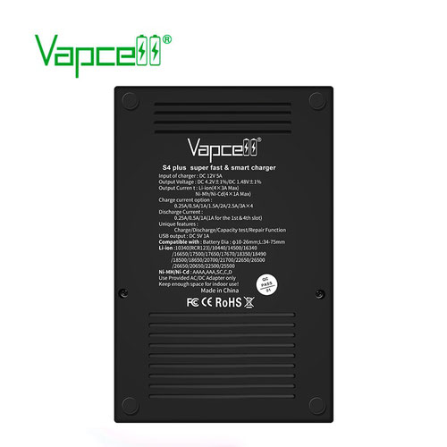 Vapcell S4 Plus