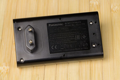 Panasonic BQ-CC55E Smart & Quick Charger