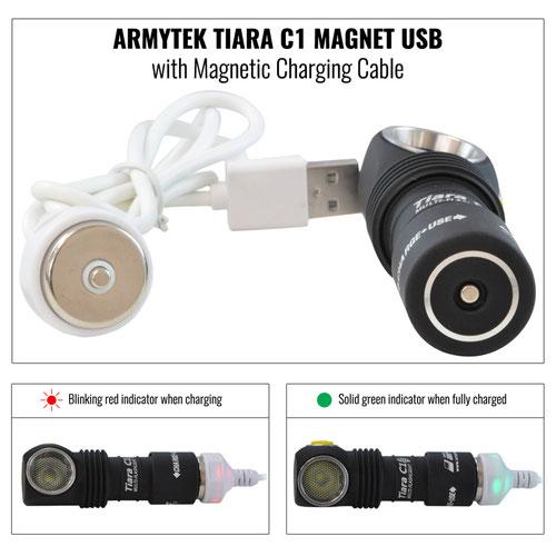 Armytek Tiara C1 Pro Magnet USB white