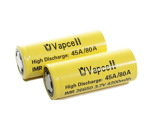 26650 VAPCELL IMR 4200mAh (45A)