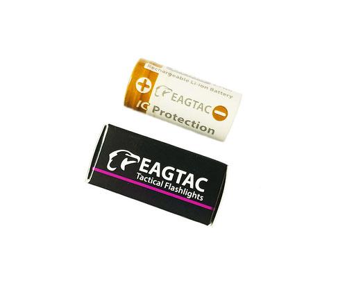 EagTac 16340 750mAh 4,5A защищенный