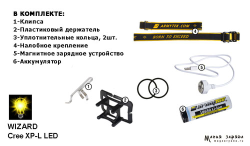 Armytek Wizard v3 XP-L  warm