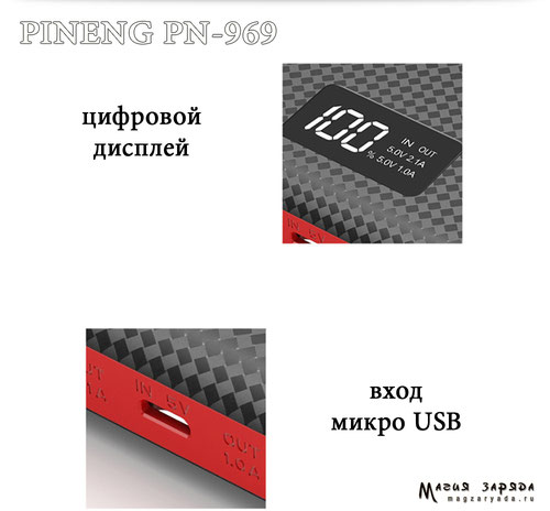 Pineng PN-920  20000mAh  74Wh