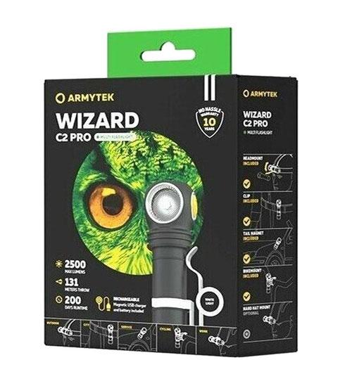 Armytek Wizard C2 Pro XHP50.2 white
