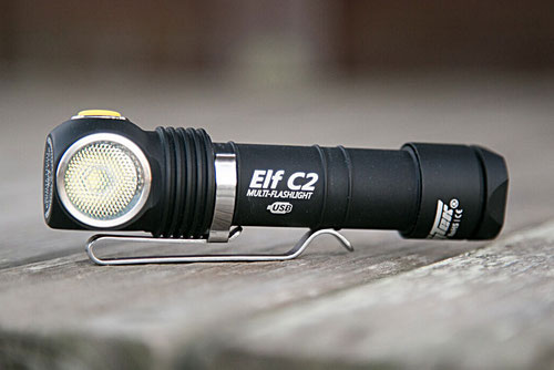Armytek Elf C2 Micro-USB+18650 white