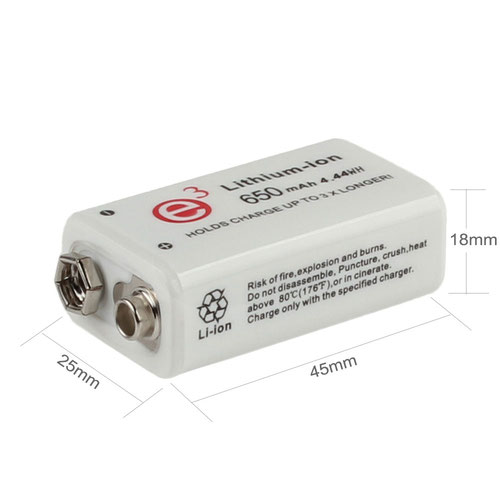 Soshine Li-ION КРОНА 650mAh