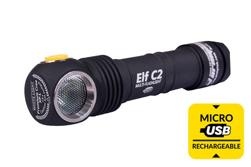 Armytek Elf C2 Micro-USB+18650 warm