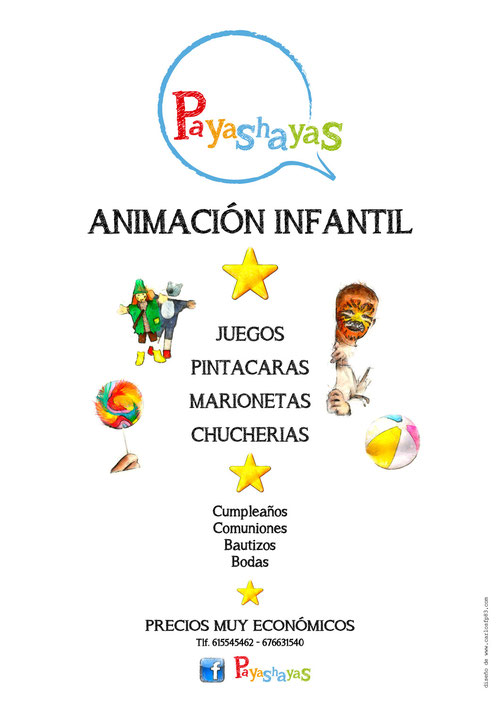 cARTEL DE PAYASHAYAS