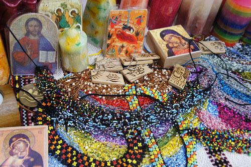 kunsthandwerkliche Produkte, in der Arche-Gemeinschaft hergestellt