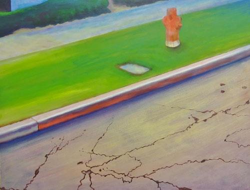 Street art 2 -  Olieverf op doek  120 x 100 cm