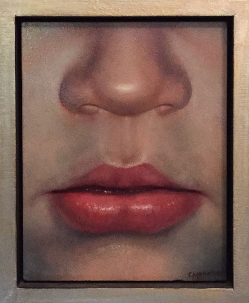 Louis neusje - hedendaags realisme - Olieverf op doek 30 x 40 cm