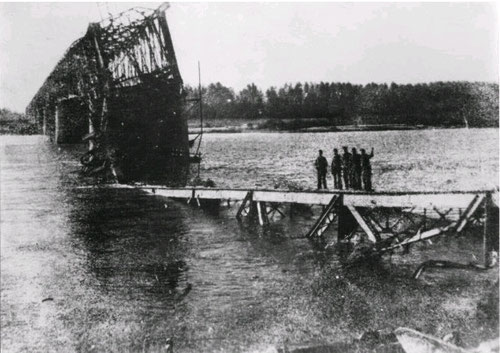 Inizio della ricostruzione 1950
