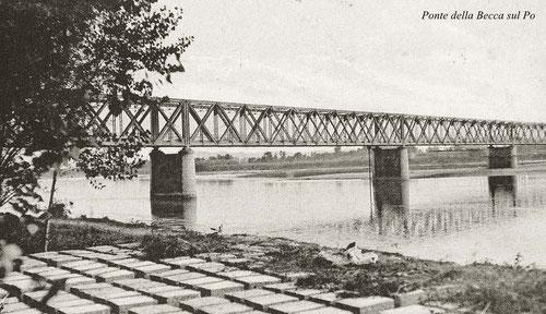 Foto del ponte . Costruzione ANNO 1912