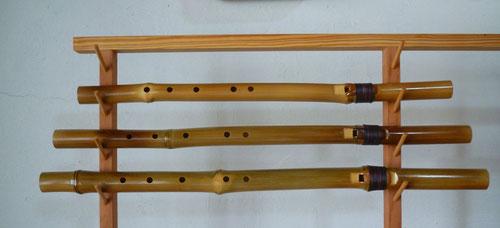 真竹製インディアンフルート虚空の笛