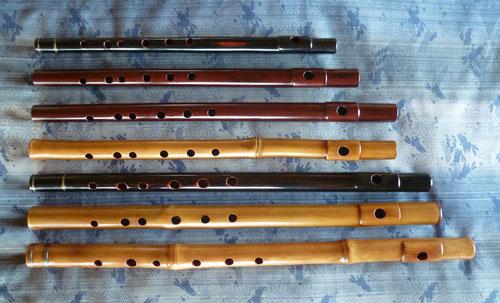 オリジナル横笛 女竹 真竹