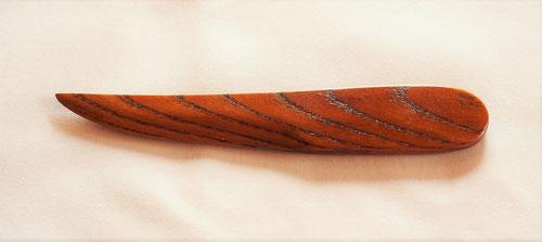 欅のペーパーナイフ 和刀タイプ Bデザイン