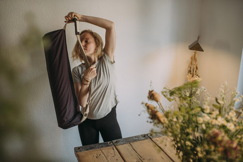With crowdfundig we we will be able to launch the most sustainable yoga mat bag.