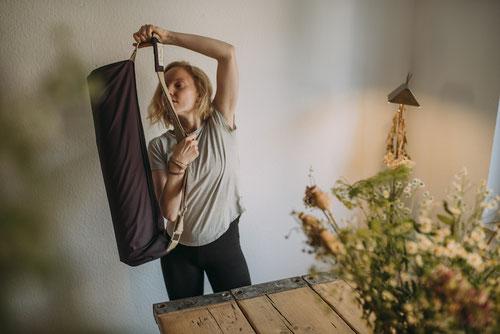 Mit dem Crowdfunding für die hejhej-bag wollen wir die erste nachhaltige Yogamatten Tasche auf den Markt bringen.