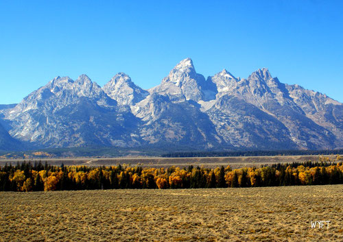 © Winifred The magnificent Grand Teton National Park, Wyoming. Sept 2010