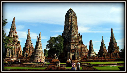 © Winifred. The impressive historic City of Ayutthaya, which we visited in 2005. A UNESCO World Heritage Center, it was unfortunately affected by the flood in Thailand recently.
