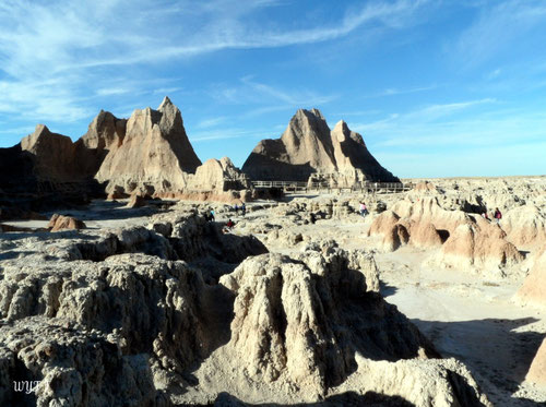 © Winifred. Badlands National Park, South Dakota. Mysterious and wild.