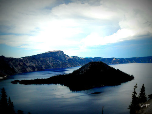 © Winifred. Crater Lake National Park, Oregon. Picture of tranquility. August 2010