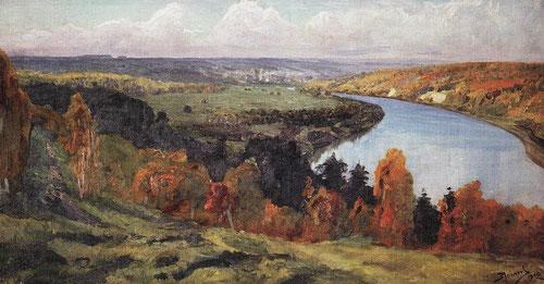 Русский художник Василий Поленов. Долина Оки