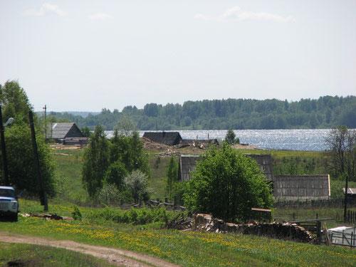 озеро Стерж. Деревня Коковкино