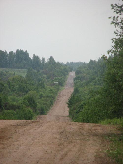 Главная дорога соединяющая Тверскую и Смоленскую область