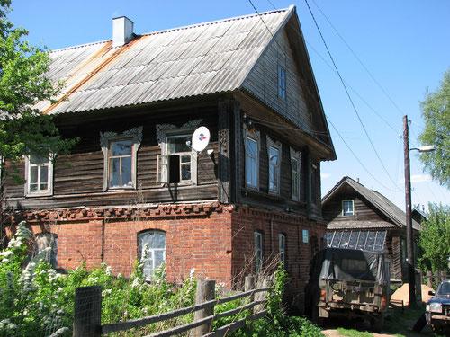 Постройки 19 века. Д. Новинка