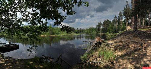 Река Пра. Фото Татьяны Осиповой