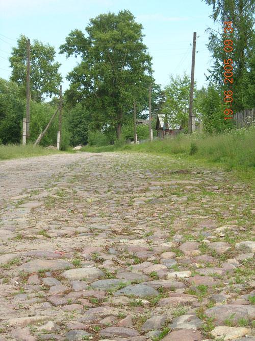 Владимирка. Деревня Старое Семенково. Фото Н. Борода. 2005 год.