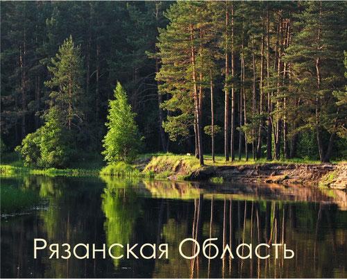 Манящий берег Пры. Фото Vladimir Podlesnykh