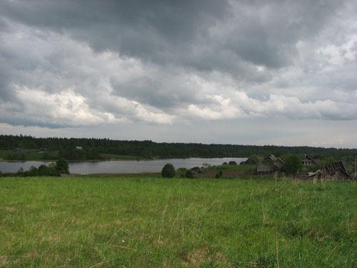 Расширение реки. Озеро Долгое