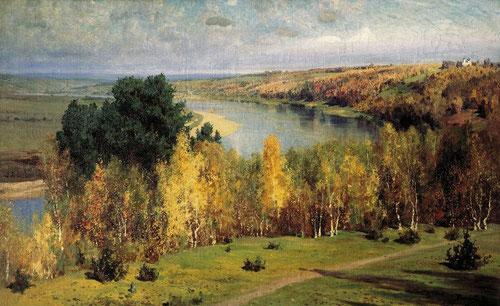 Русский художник Василий Поленов. Золотая осень