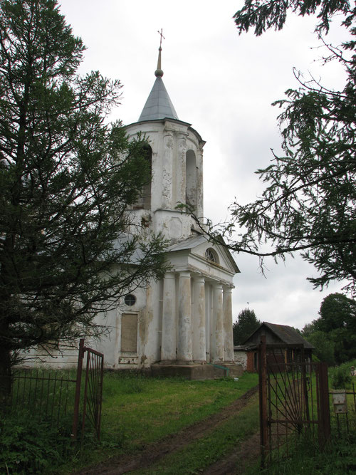 Храм на реке с селе Пигулино