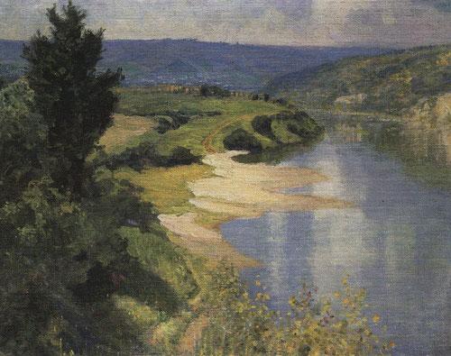 Русский художник Василий Поленов. Ока летом
