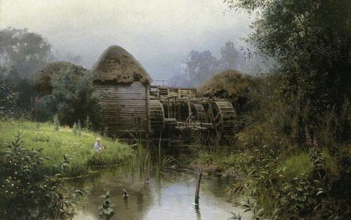 Русский художник Василий Поленов. Старая мельница