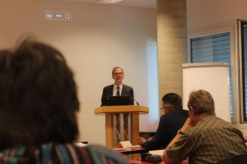 NGO Tagung der DNG: Keynote des deutschen Botschafter Roland Schäfers