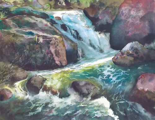 Watercolor Painting Print