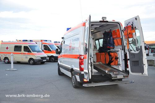 Notfall-KTW Typ B der SEG Transport