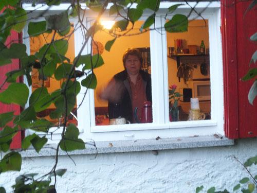 ... und aus dem Fenster