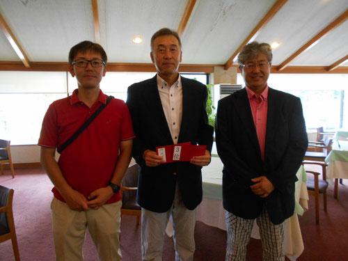 足利城ゴルフ倶楽部Aクラス月例杯競技にお客様と参加しました!