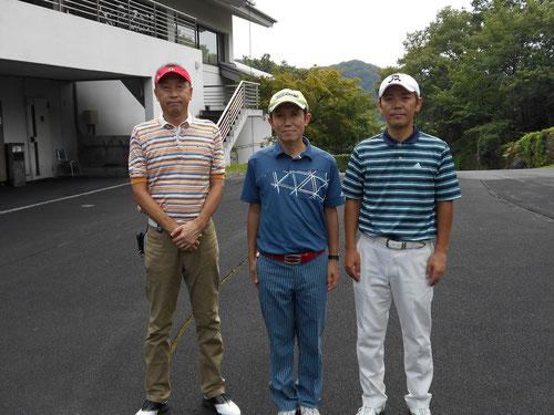 足利城ゴルフ倶楽部夏のゴルフ