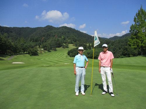 足利城ゴルフ倶楽部秋のコース画像