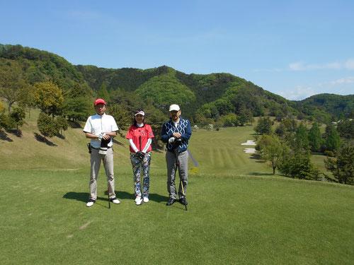 足利城ゴルフ倶楽部の新緑のGW