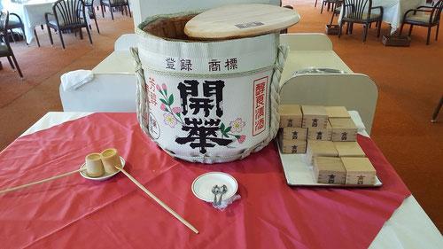 唐沢ゴルフ倶楽部の樽酒!
