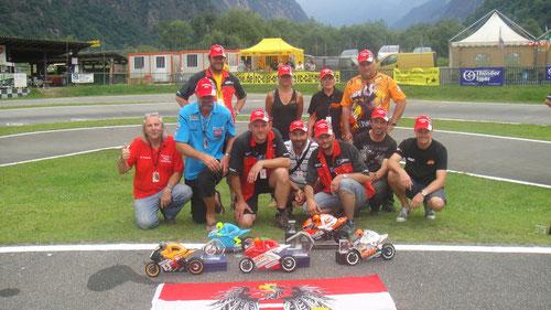 Das Team - Austria war die Erfolgreichste Nation bei dieser 1:5 Bike-WM 2011
