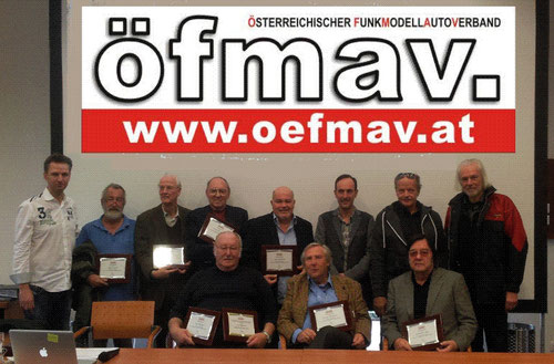 Ehrung u. Verleihung für Verdienste für langjährige Mitwirkung beim ÖFMAV