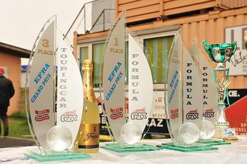 Glas-Pokale für die Klassen-Sieger  Klick auf  das Foto!